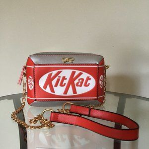 Kit Kat -Small Bag Shoulder/Cross Body Red, White